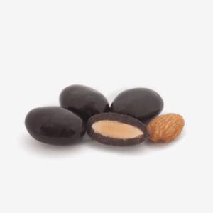 almendra recubierta chocolate belga