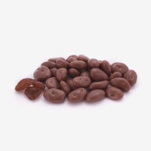 bombon pasas chocolate suizo Importaco