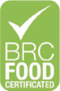 logo brc food certificated