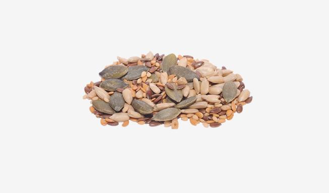 variado de semillas y pipas