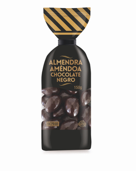 almendra chocolate negro Hacendado