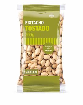 pistachos tostados Hacendado alianza Importaco