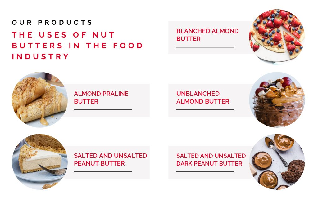 nut pastes examples