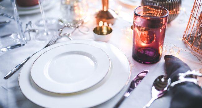 restaurante en navidad