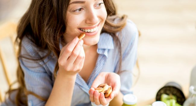 snack saludable frutos secos