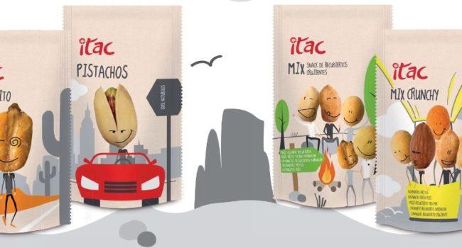 Catálogo snacks on the go para convenience